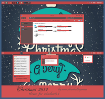 Christmas 2014 Theme For Windows 8.1 by cu88