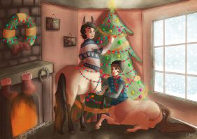 It's Christmas by GreecemisisBiscuit