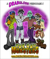 The Gay Monsters by Art-by-Andy