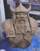 Dwarf Clay WIP by Mingrune