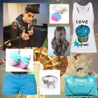 Going to knotts with zayn by DirectionForLyfe