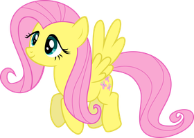 Fluttershy - Calm Flight by extreme-sonic