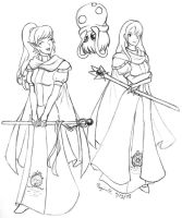 Shining Force WIP by Arcfalchion