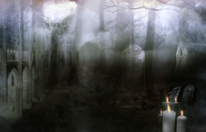 Background 23 -  Cemetery by lifeblue
