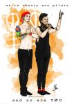 we're twenty one pilots and so are you. by Leadto-Light