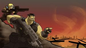 Gears of War Contest by ChenUp