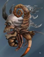 Hermit crab(unfinished) by pseudodog