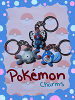 Pokemon Charms First Gen by Mochiibon