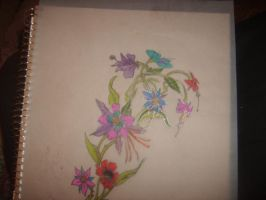 flower design for a leg, or fo by Twiztid420Ninjette