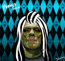The true face of Frankie Stein by JellieLucy