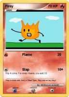 Firey Pokemon Card by WellRead