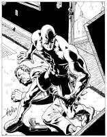 Daredevil Inks by jamesq
