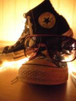 Hovering Converse by NintendoLover13