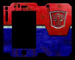 Calling All Autobots - iPhone 3GS Skin by WearManyHats