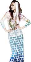 Dara (2NE1) Render by classicluv