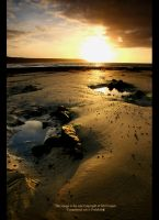 SunRise Over Port Eynon Beach3 by GMCPhotographics