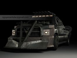 Death Race - Dodge RAM 1 by nguyenanhdac