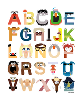 Muppet Alphabet - Final Version by mbaboon