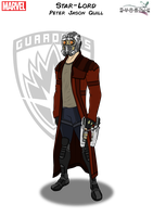 Star-Lord by PhoenixStudios91