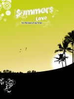 Summers Love by kandiart