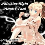 Fate.StayNight Render Pack by Witchcraft997