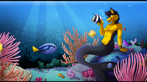 Fish are FRIENDS! by RupeeCat