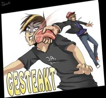 GESTEAKT! Applewar Pictures Fanart by Jennax3