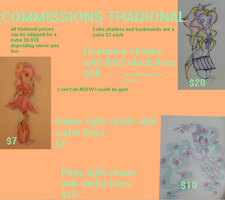 Commissions sheet for tradional art by Alpacakeeptheh8saway