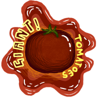 Giant! Tomatoes: contest entry by ashlin422