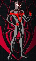 Miles Morales: The Ultimate Spider-Man by MOMOpJonny
