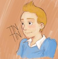Tintin by bluehippopo
