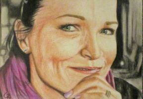 Tarja's Smile by ArtGoldArt