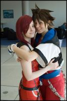 Kairi and Sora by Wany-Waldnymphe