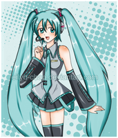 Miku color by Eilyn-Chan