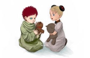 Gaara and Alvis by mausmouse