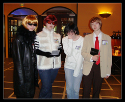 Death Note cosplay group shot by loezzy