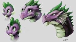 Spike Age Thingy by SilFoe