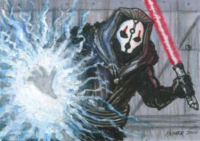 Darth Nihilus ACEO by HalHefnerART