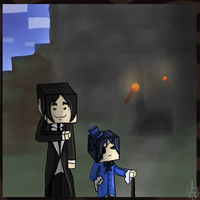 Minecraft Black butler by Blackalphadragon96