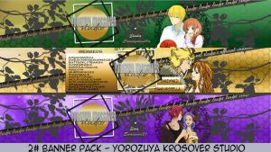 Anime Youtube Banner Pack #2 - YKS by xMissEllax