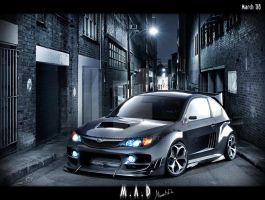 Subaru Impreza WRX STI by maddinc
