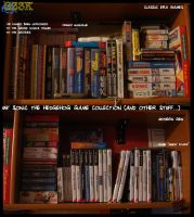 My Sonic games Collection by theEyZmaster