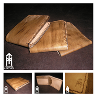Limited edition leather wallets by DarkHestur