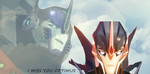 TFP Optimus x Arcee by celtakerthebest