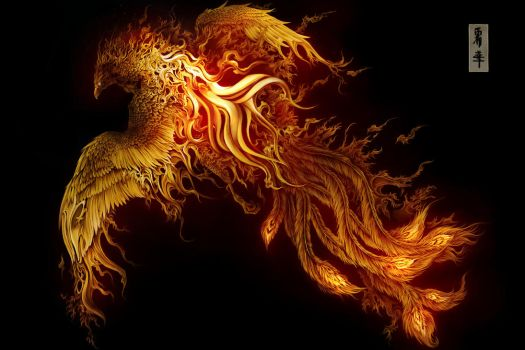 Rebirth Flame by Vyrilien