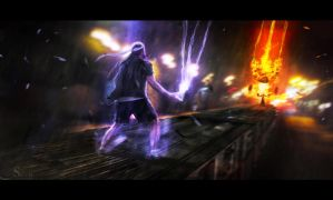 The Train Fight + STEPS by Secr3tDesign