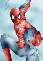 Spiderman by Pinchii
