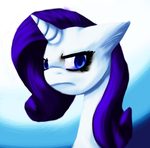 Rarity is the best pony by AnxietyPotato