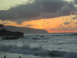 North Shore Sunset by thermalishous