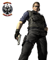 Albert Wesker Render 02 by PimplyPete